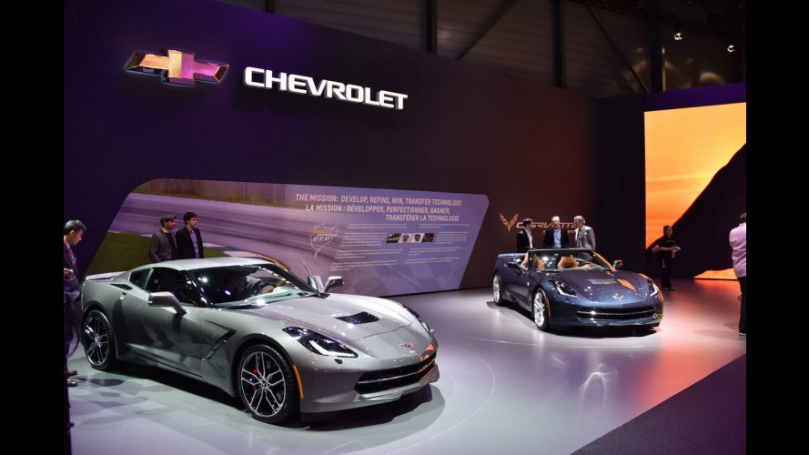 Chevrolet al Salone di Ginevra 2015