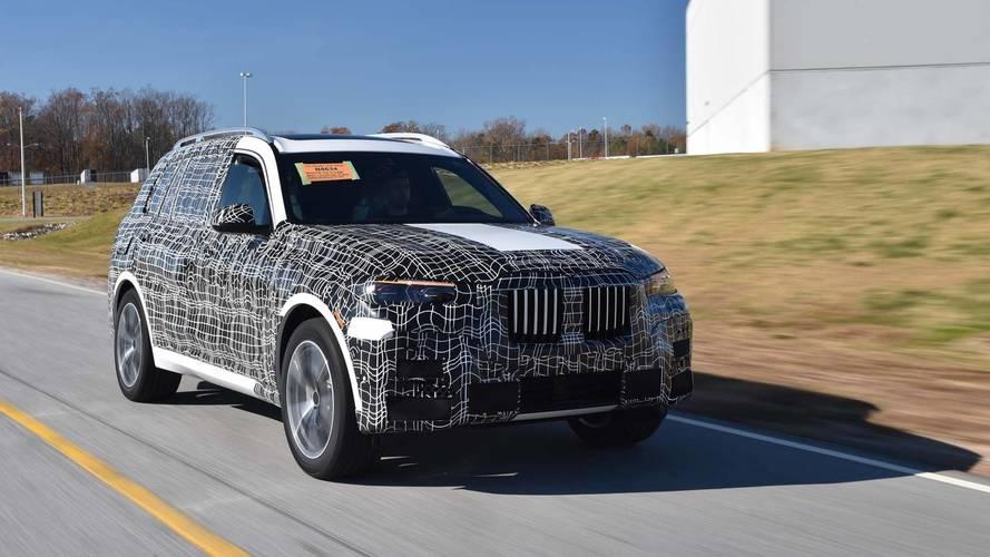 Októberben érkezik a BMW X7 sorozatgyártott változata