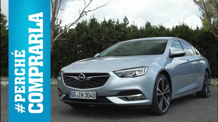 Opel Insignia Grand Sport, perché comprarla... e perché no [VIDEO]