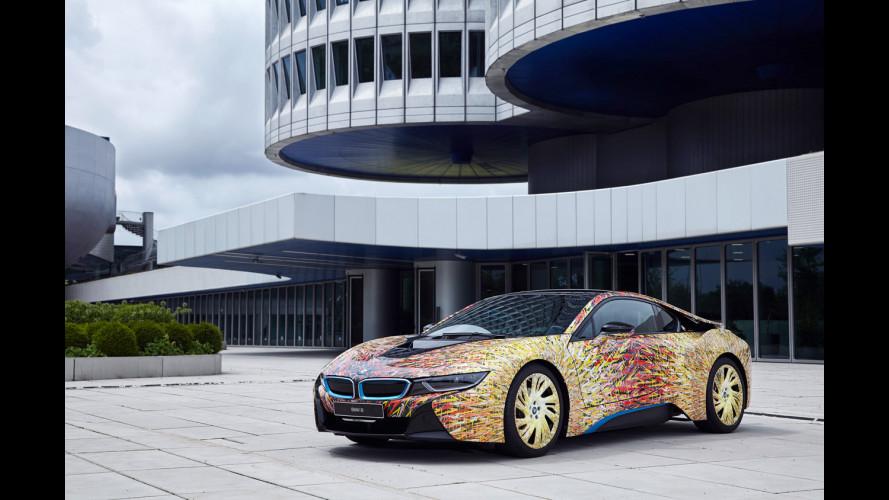 BMW i8 Futurism Edition, festa per i 50 anni di BMW in Italia