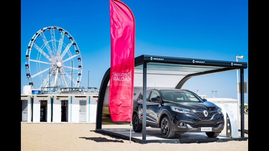 Renault, la gamma crossover va in tour