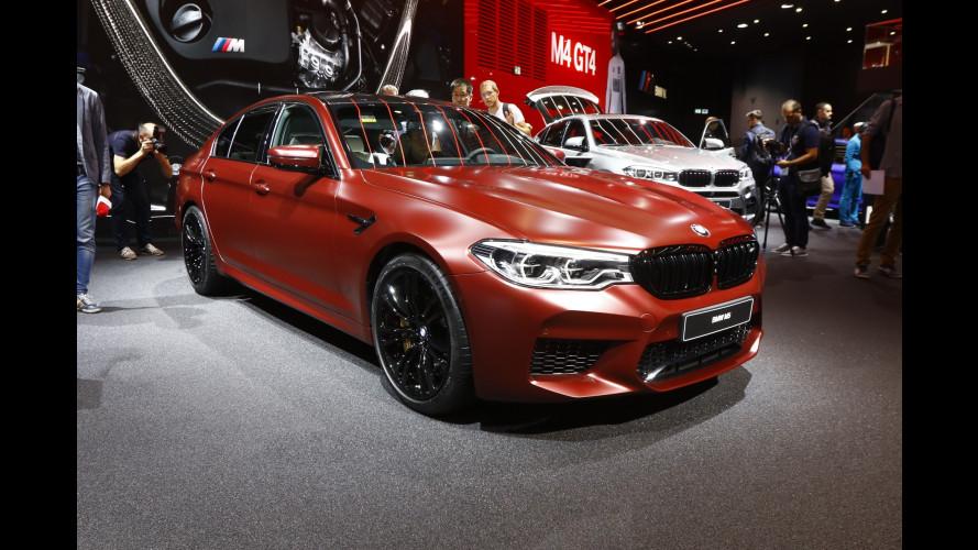Nuova BMW M5, a Francoforte quella con la trazione integrale [VIDEO]