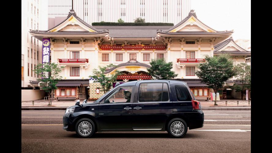 Toyota JPN Taxi, ospitalità alla giapponese
