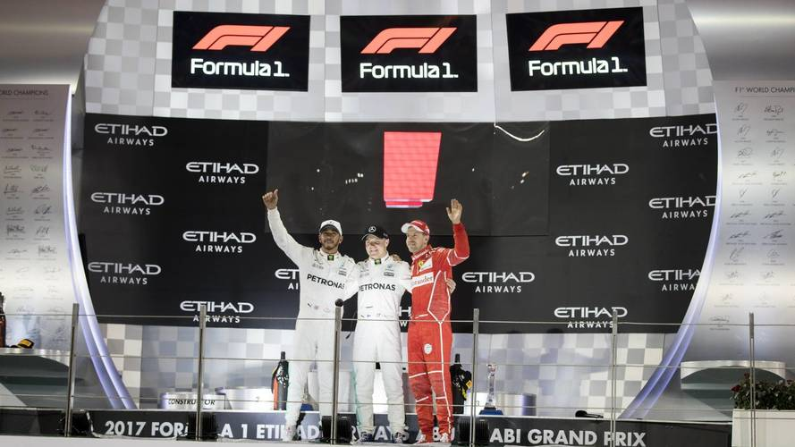 Hamilton, Vettel Say Old F1 Logo Was Better