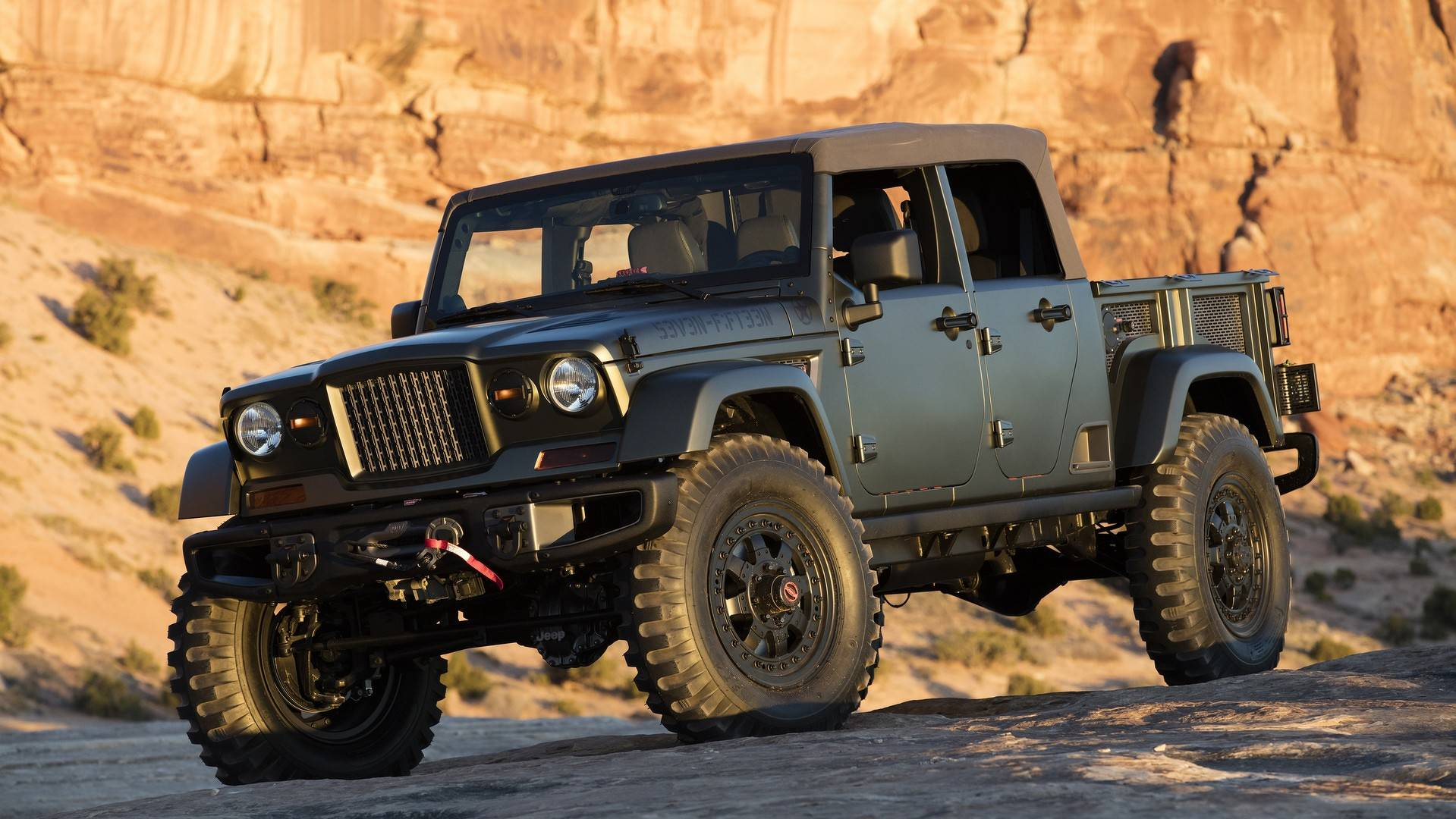 2016 Jeep Truck >> 2019 Jeep Scrambler Pickup Truck Getting Removable Soft Top