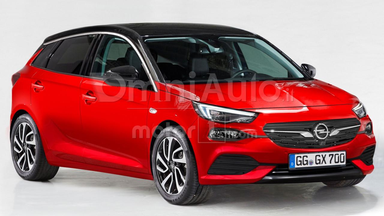 Nuova Opel Corsa, il rendering