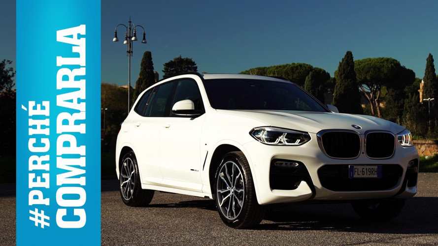 BMW X3, perché comprarla… e perché no