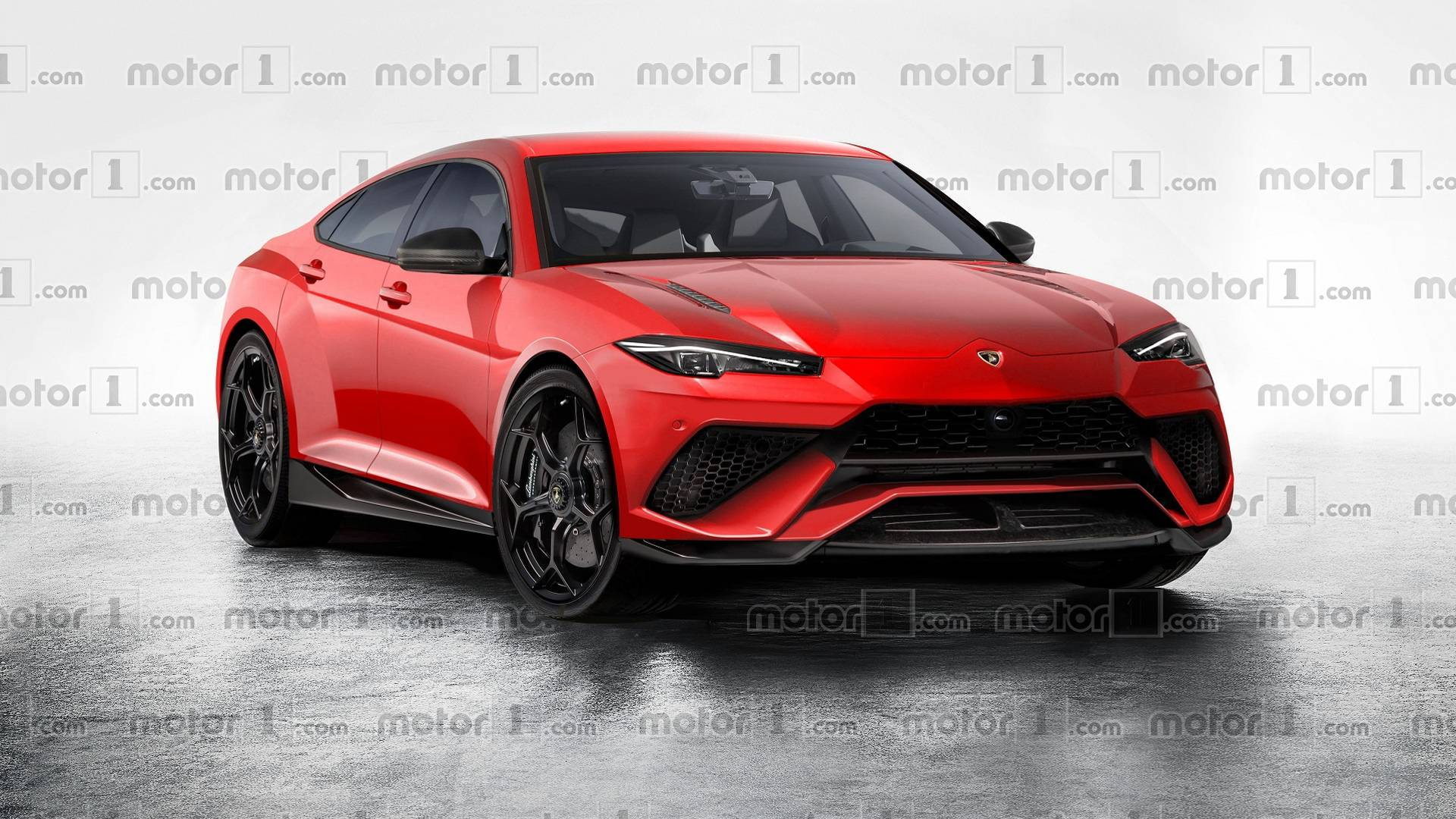 Lamborghini Four Door Sedan Imagined But Will It Happen
