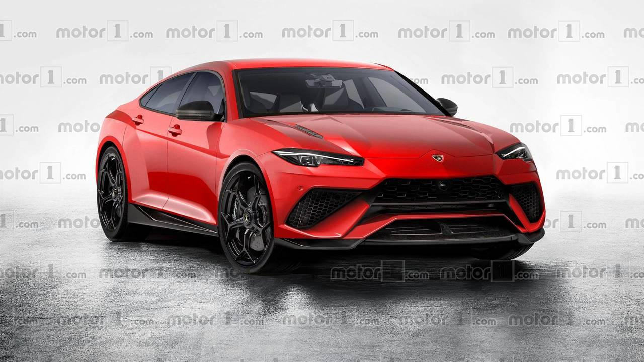 Lamborghini Urus rendering
