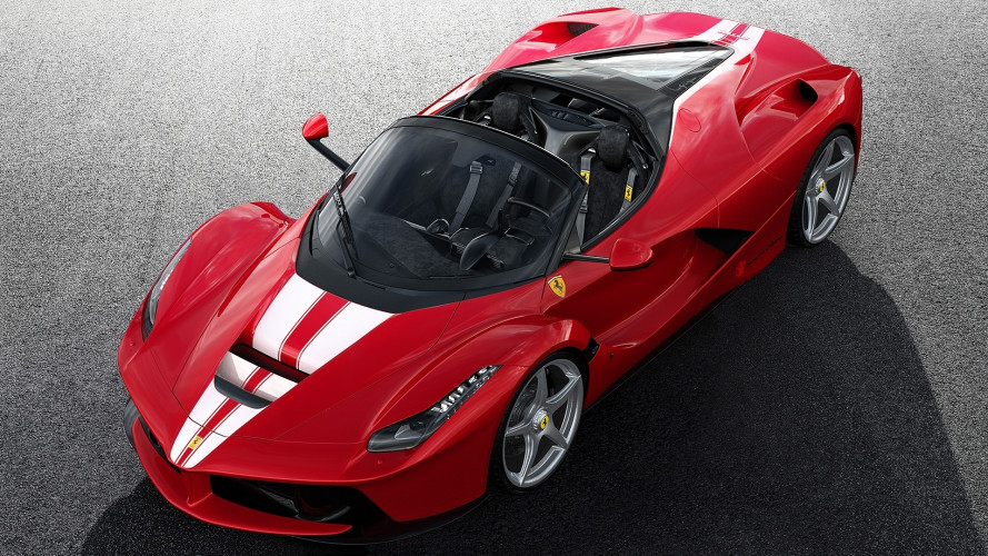 [Copertina] - LaFerrari Aperta, l'ultima va all'asta per Save the Children