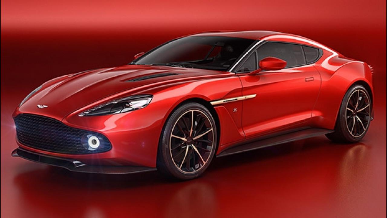 [Copertina] - Aston Martin Vanquish Zagato Concept, anglo-italiana da urlo