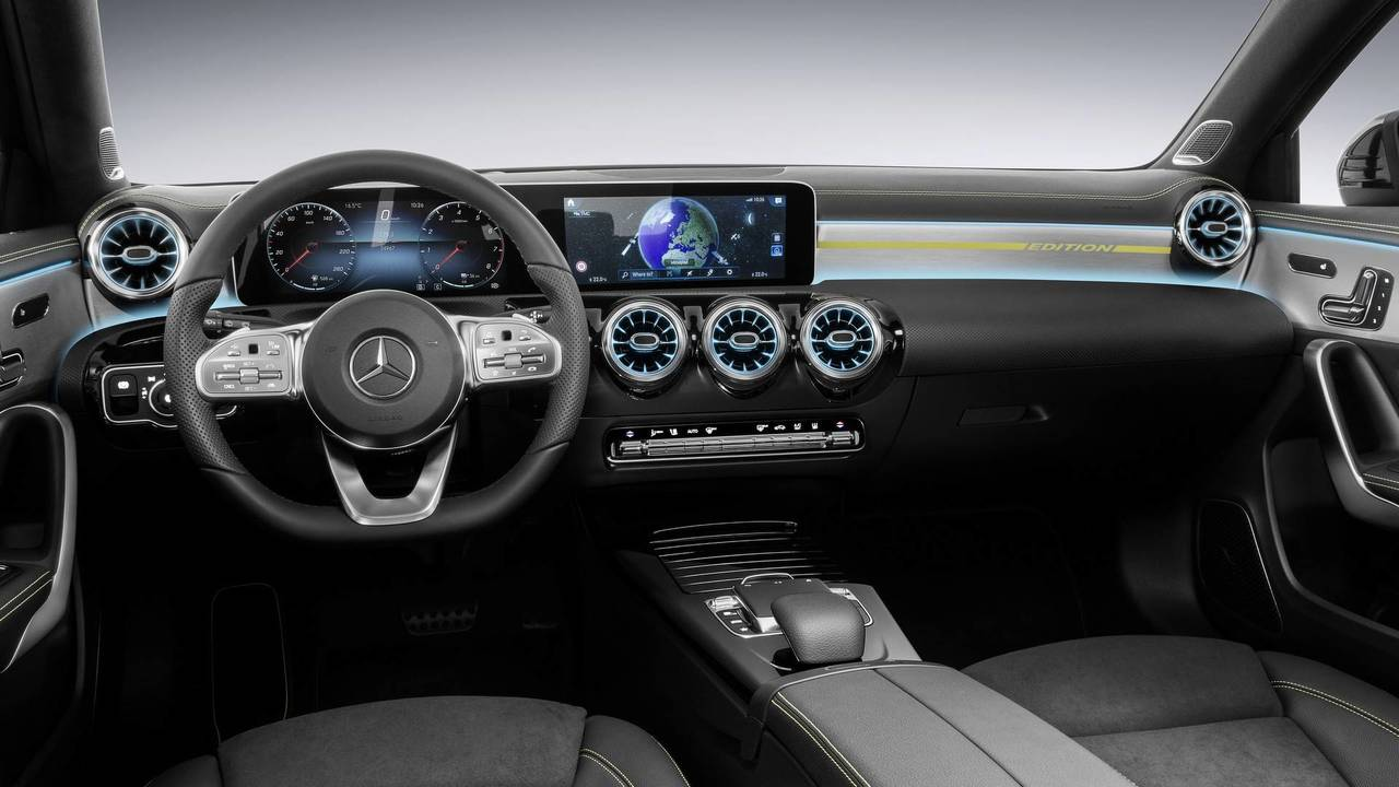 2018 mercedes a class interior