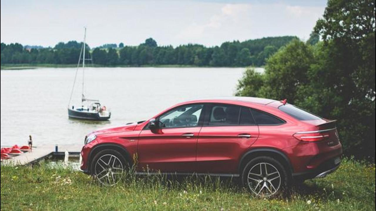 [Copertina] - Mercedes GLE, il Polar Sun Trip si spinge fino a Riga a bordo della 350d