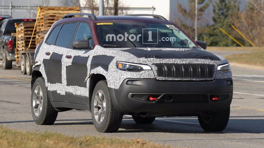 Refreshed 2019 Jeep Cherokee Spied In Trailhawk Guise