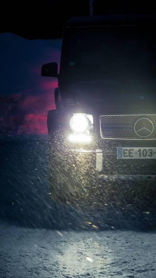 Mercedes, 4MATIC, Norvège