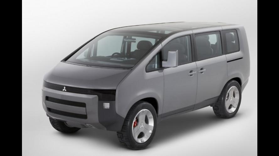 Van-Studie als Weltpremiere in Tokio: Mitsubishi Concept-D:5