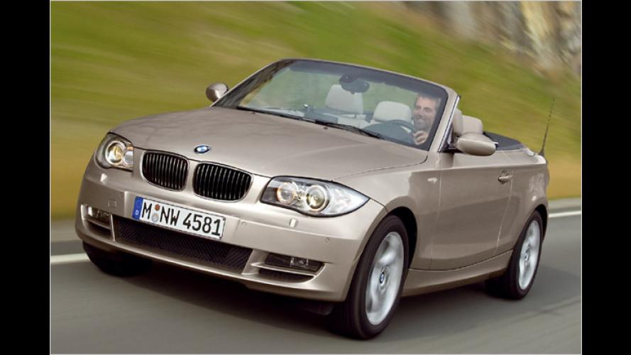 BMW gibt Stoff: Das 1er Cabrio öffnet für vier Leute
