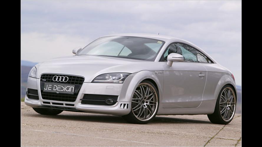 JE Design macht stark: Mehr Power für den Audi TT