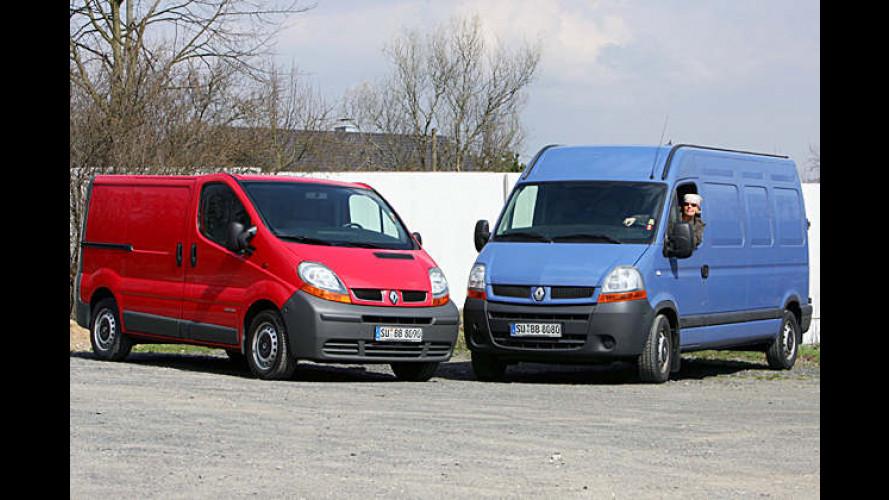 Renault Trafic und Master (2006): Preise für neue Version jetzt fix