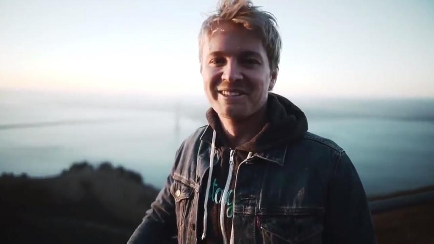 F1 Champ Nico Rosberg Rides Electric Motorcycle, Visits Tesla