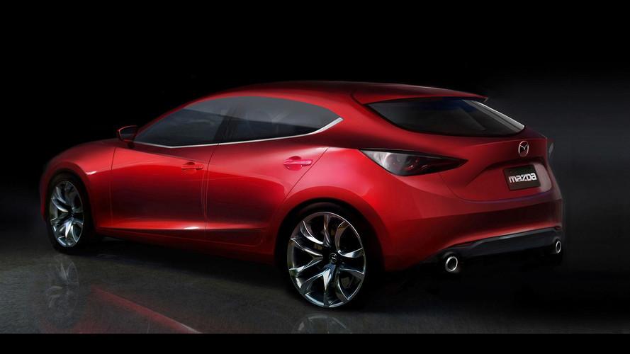 Projeção do novo Mazda3