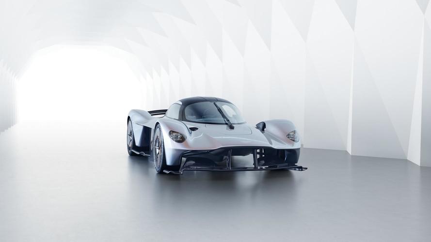 An itibariyle en güçlü atmosferik motor, Aston Martin Valkyrie'de