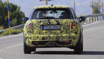 2018 Mini Five-Door Hatch facelift spy photo