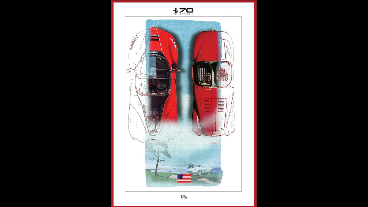 Ferrari 70th Anniversary Celebration