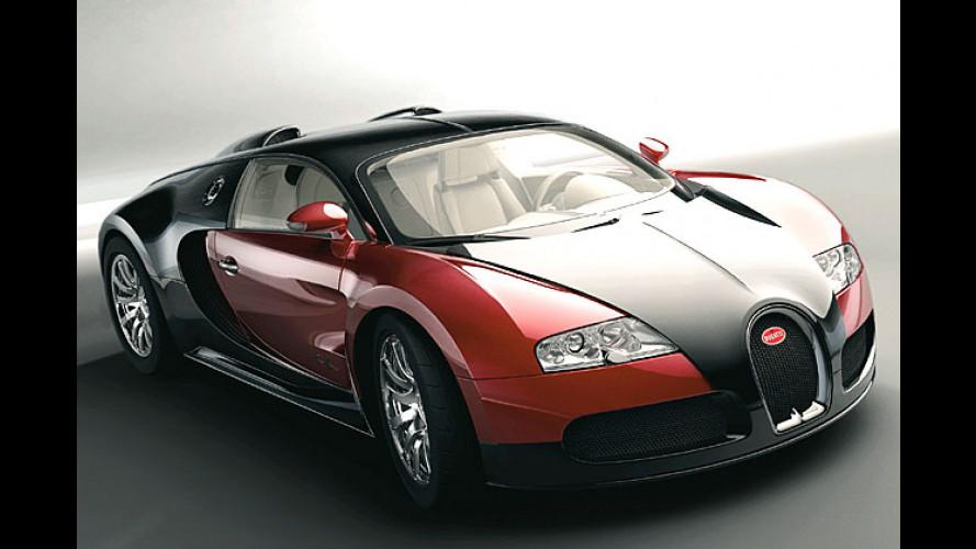 Bugatti Veyron: Finale Erprobungsphase vorm Serienstart