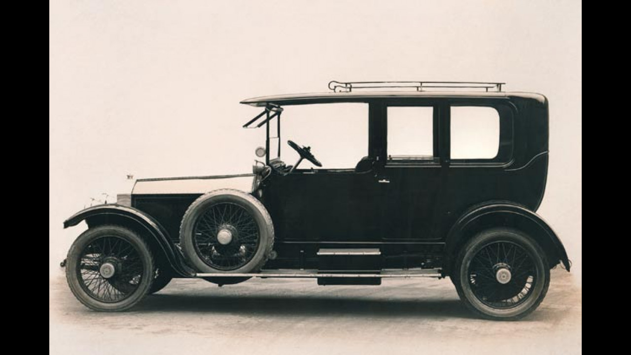 Rolls-Royce 40/50hp Silver Ghost, 1907- 1925