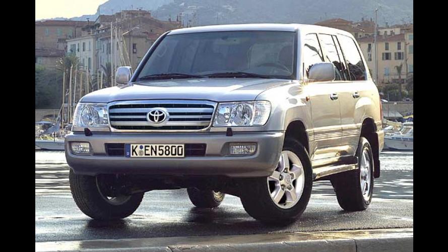 Toyota Land Cruiser 100: Großer Offroader, kleines Facelift