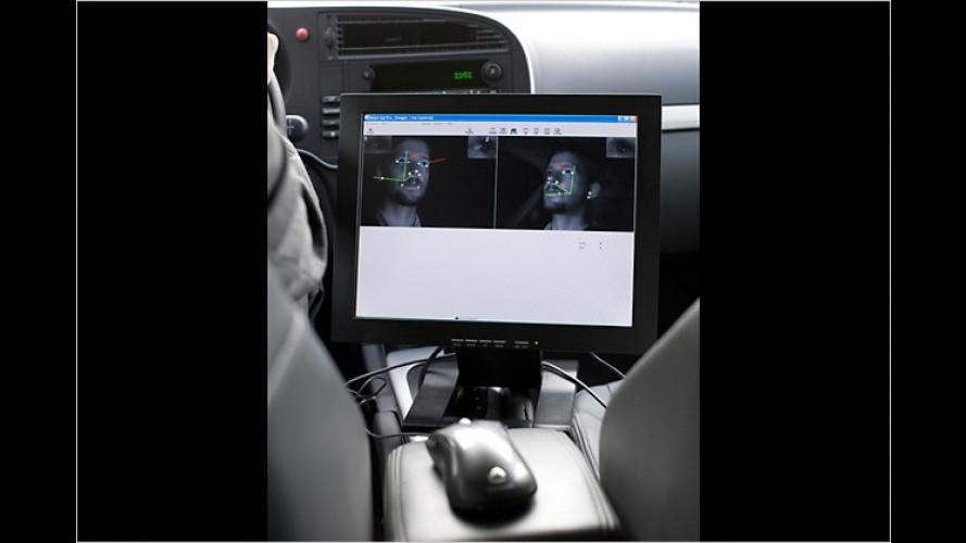 Fahrerfrühwarnsystem von Saab macht das Fahren sicherer