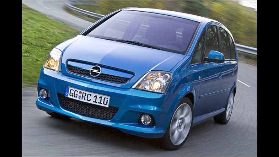 Opel Meriva OPC: Willkommen im Sport-Klapp