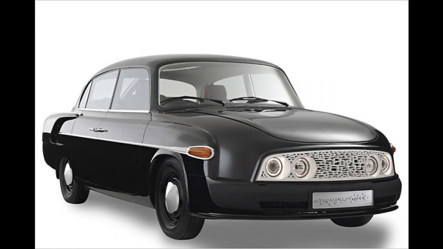 Pimp my Oldie: Modernisierter Tatra T603 von Faurecia