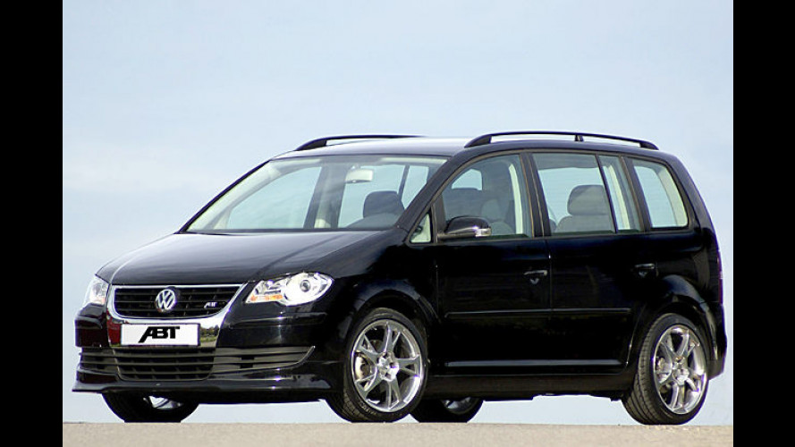 Mehr Leistung für die Familie: Sportlicher Van von Abt