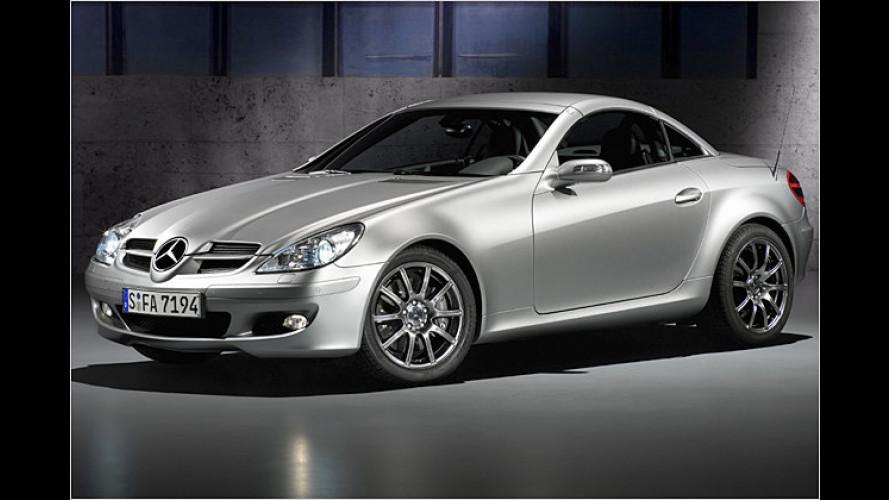 Mercedes Benz: Der SLK feiert seinen zehnten Geburtstag
