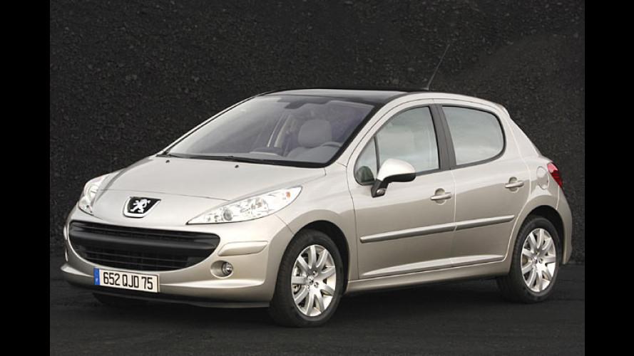 Der neue Peugeot 207: Die zwei Gesichter des Löwen