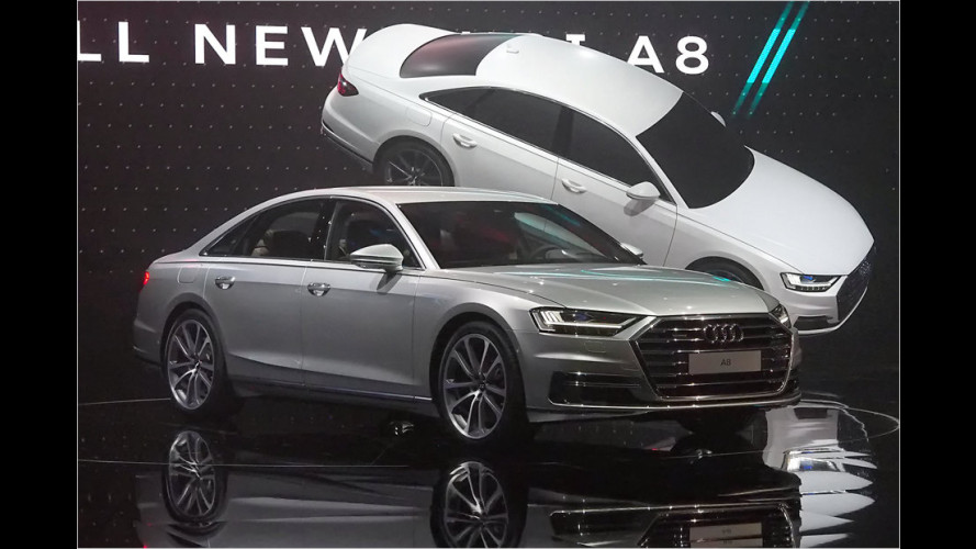 Neuer Audi A8 (2017): Noch länger, noch autonomer