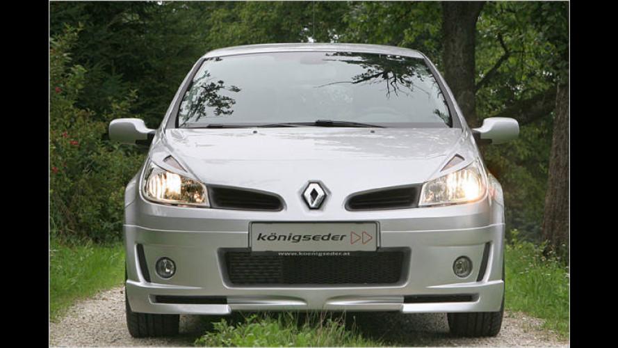 Königseder macht den Renault Clio zur Rennsemmel