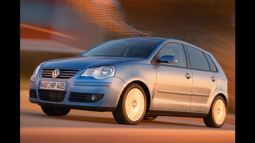 VW Polo (2005): Dreizylindervarianten mit 70, 80 und 64 PS im Test