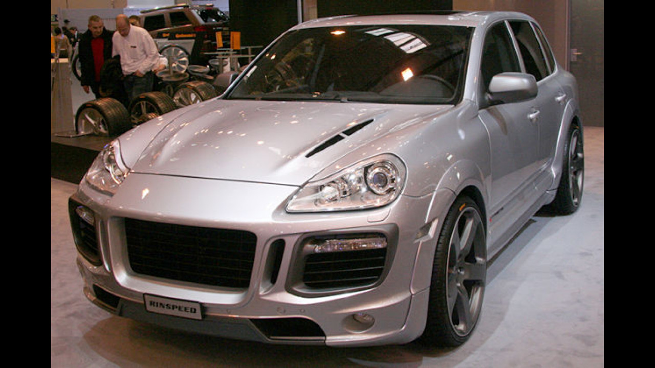 Rinspeed Porsche Cayenne X-treme