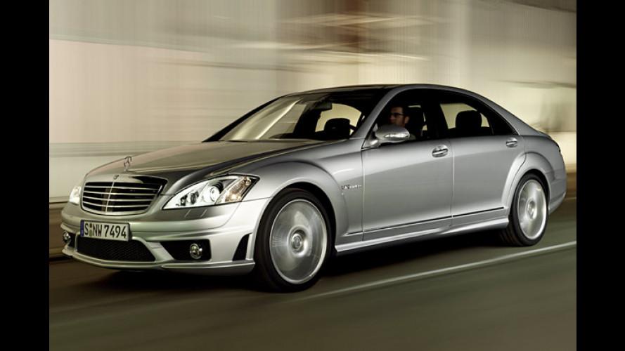S kommt gewaltig: Mercedes S 65 AMG mit 612 PS