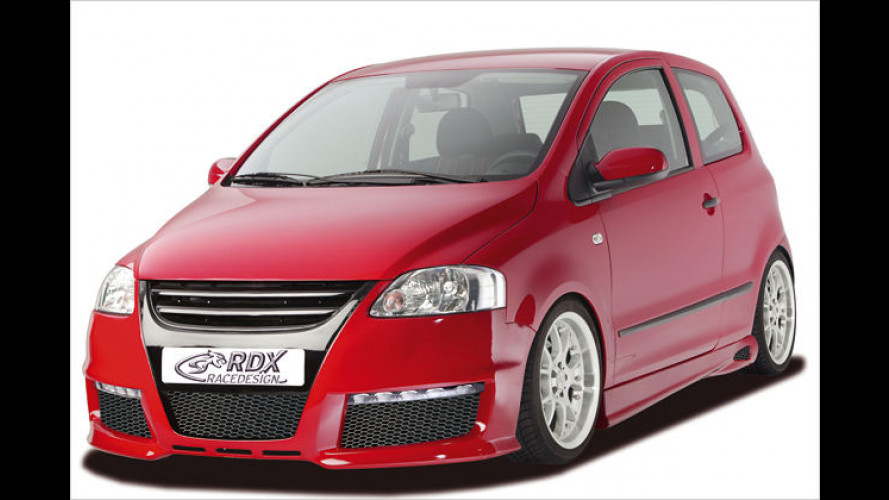 Bulliger Fox: Sportliches Aerodynamik-Kit für VW Fox