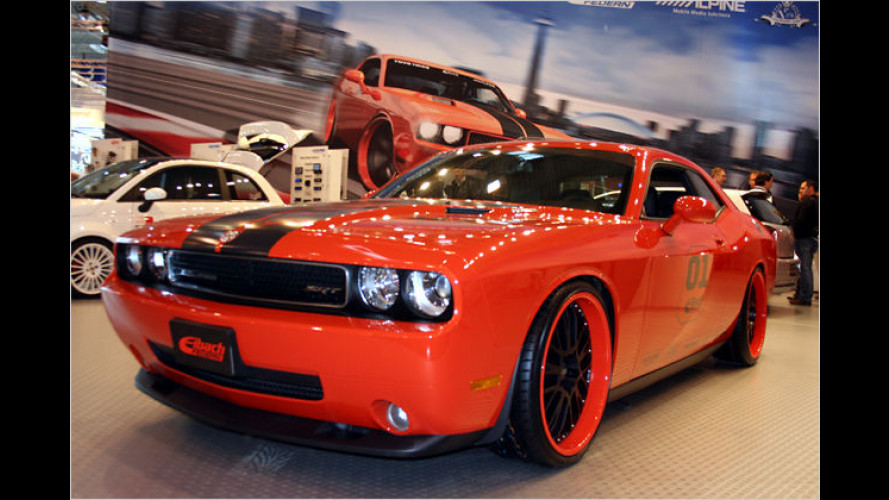 Für um die Kurve: Dodge-Challenger-Projekt in Essen