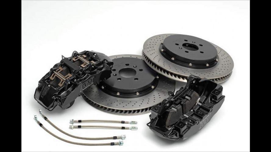 Mehr Biss: Abt-Bremsanlagen für Audi- und VW-Modelle