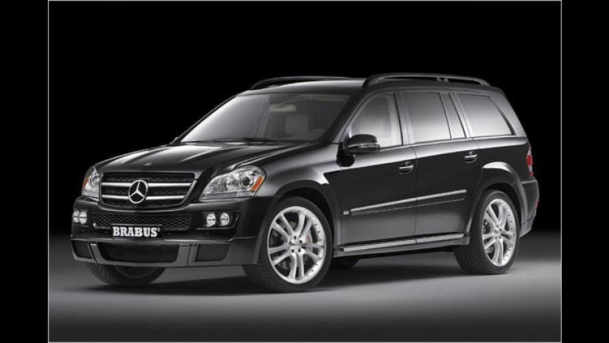 Brabus macht Mercedes stark: Druck für ML und GL