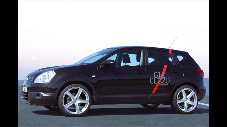 Großes Schuhwerk für das Pseudo-SUV Nissan Qashqai