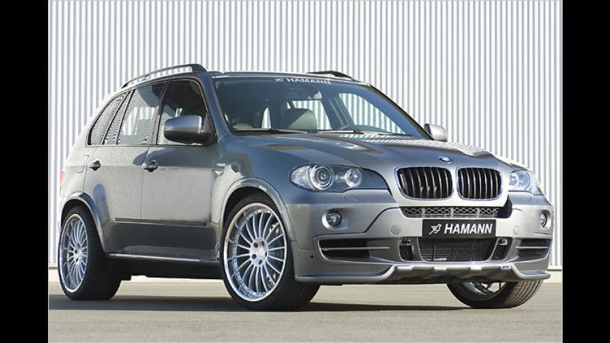 Sportives Edel-SUV: Tuner Hamann veredelt den BMW X5
