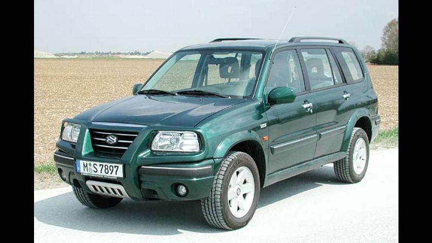Suzuki Grand Vitara XL-7: Verlängert fürs Wochenende
