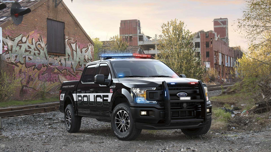 Ford F-150 Responder é a mais nova combatente do crime nos EUA